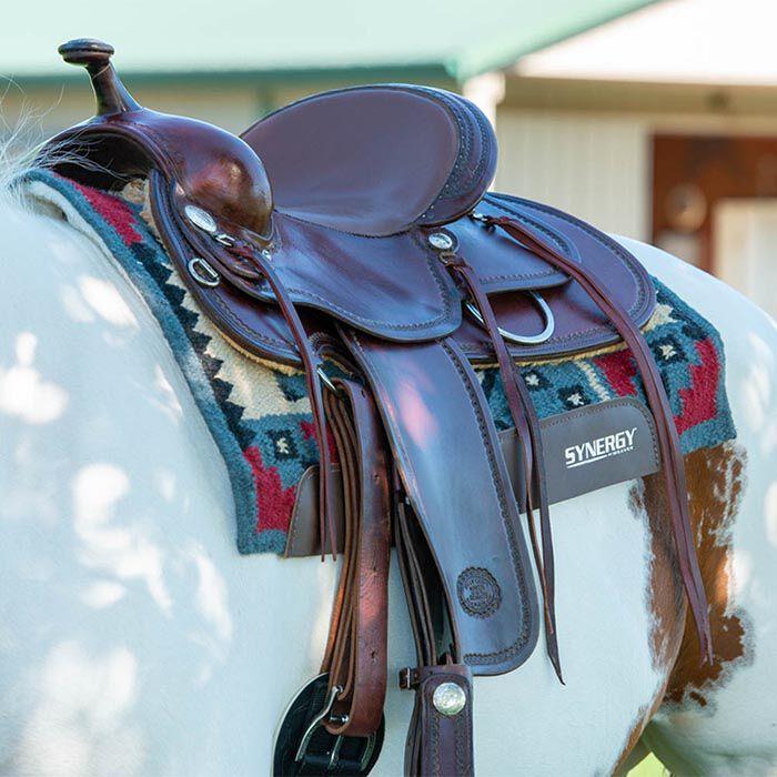 Western saddle pad