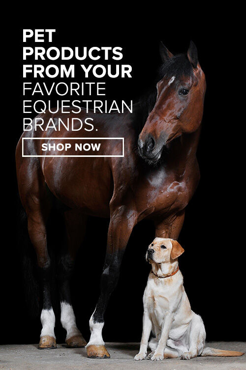 Pet products from your favorite equestrian brands