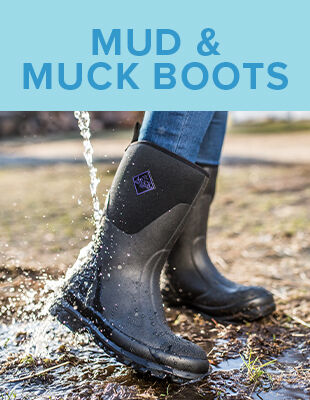 Mud and muck boots