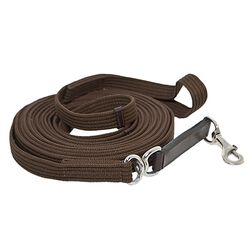 Leather & Snap Cotton Lunge Line