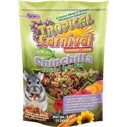 Brown's Tropical Carnival® Natural Chinchilla Fortified Daily Diet
