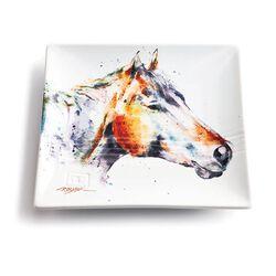 GT Reid Horsehead Ceramic Plate