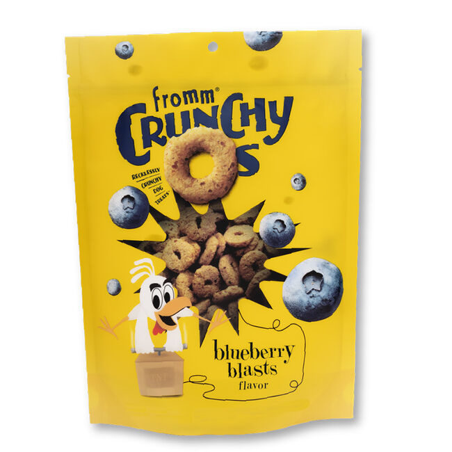 Fromm Crunchy O's Blueberry Blasts Crunchy Dog Treats image number null