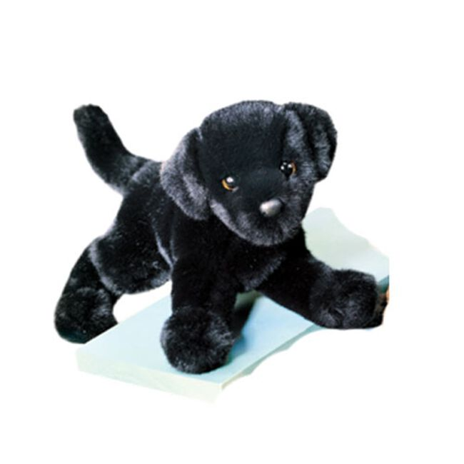Douglas Brewster Black Lab Plush Toy image number null