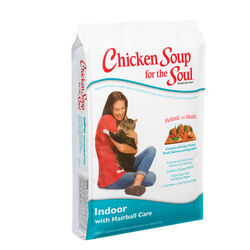 Chicken Soup Indoor with Hairball Care Dry Cat Food