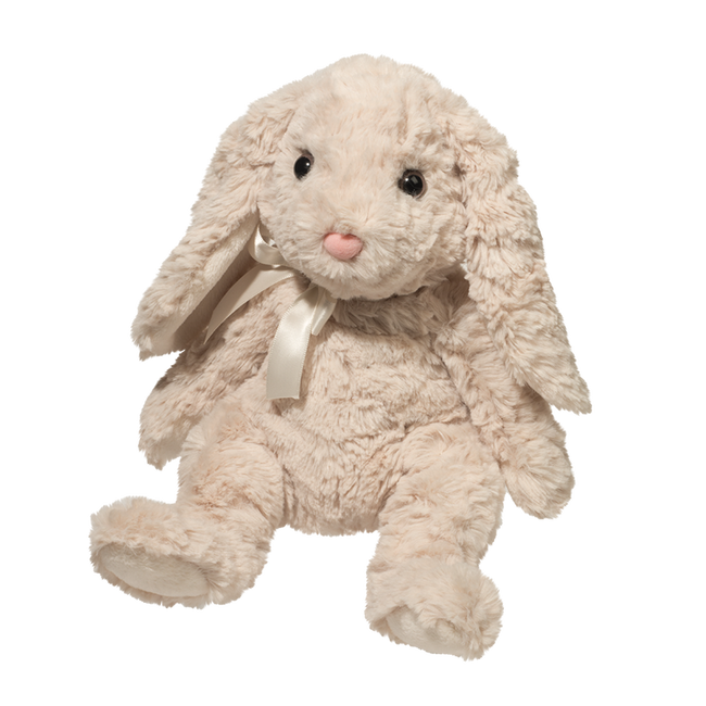 Douglas Ollie Oatmeal Lop Bunny Plush Toy image number null