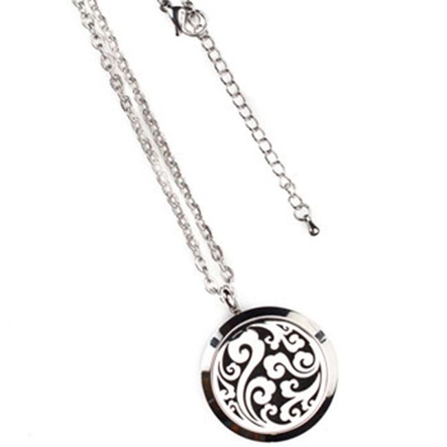 Annie Oakley Bohemian Aroma Locket Necklace 30 mm image number null