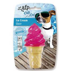 All for Paws Chill Out Strawberry Ice Cream Cone