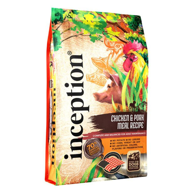 Inception Pet Food Chicken & Pork Recipe Dry Dog Food image number null