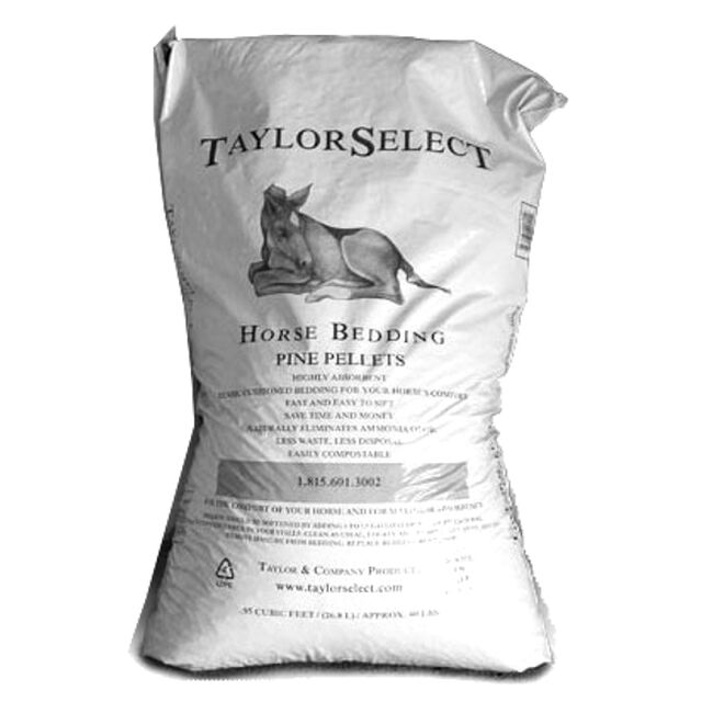 Taylor Select Horse Bedding Pine Pellets image number null