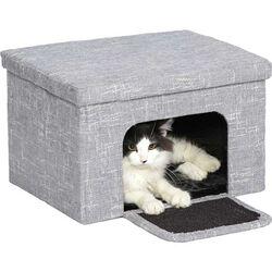 Feline Curious Cat Cube Cottage