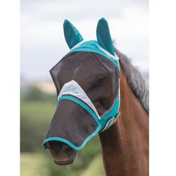 Shires Fly Mask Detachable Nose