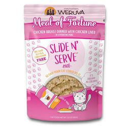 Weruva Meal of Fortune Pate 2.8 oz Wet Cat Food Pouch