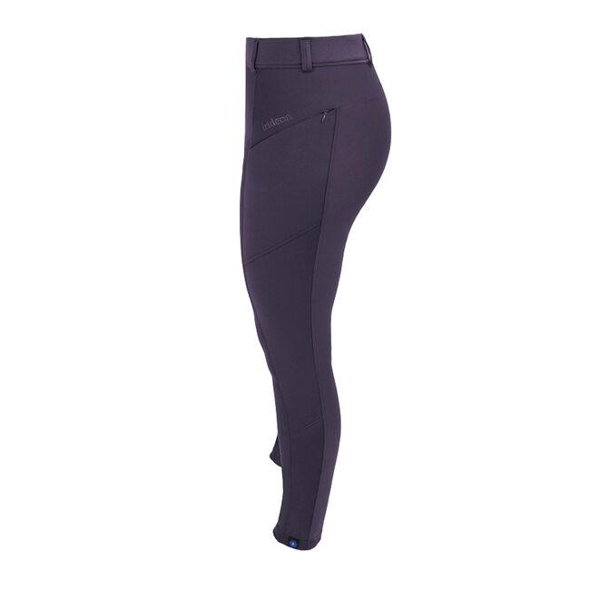 Irideon Women's Thermasoft Knee Patch Breeches - Auburgine image number null