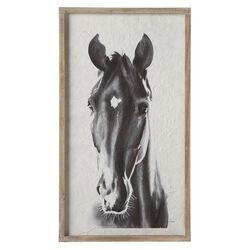 Ganz Framed Horse Wall Decor