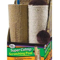 Four Paws Super Catnip Scratching Post