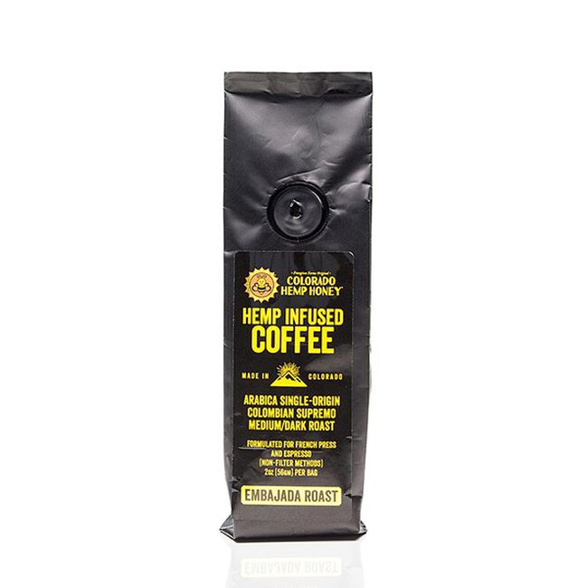 Colorado Hemp Honey Hemp Infused Coffee - 2oz image number null
