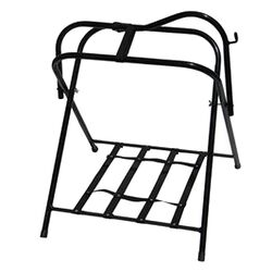 High Country Free Standing Floor Saddle Rack