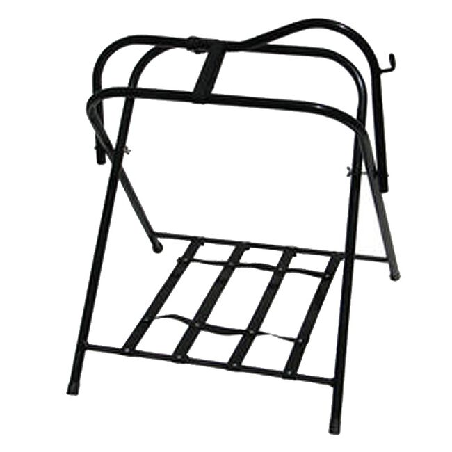 High Country Free Standing Floor Saddle Rack image number null