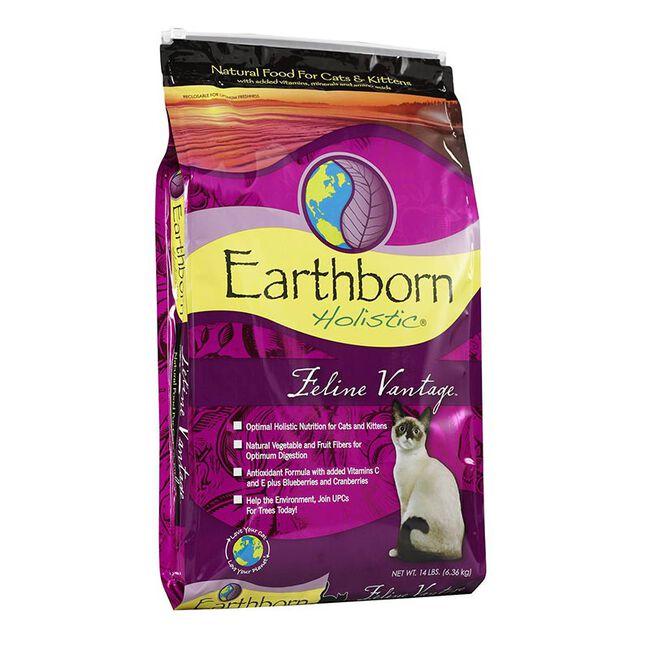 Earthborn Holistic Feline Vantage Dry Cat Food image number null