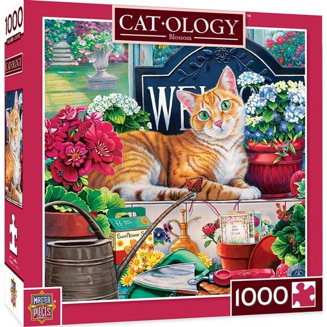 """Cat-ology 1000 Piece Puzzle - """"Blossom"""" image number null"""