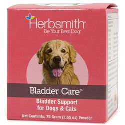Herbsmith Bladder Care and Support Powder for Cats and Dogs 75g
