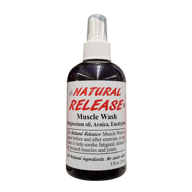 All Natural Release Muscle Wash - 8 oz image number null