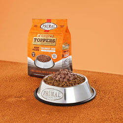 Primal Pet Market Mix Topper 5 lb - Beef