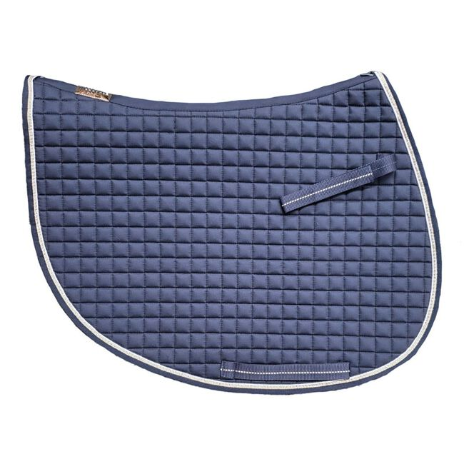 Eskadron Heritage Collection Cotton Jumper Saddle Pad - Navy image number null
