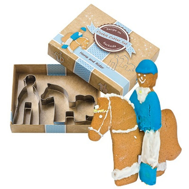 Kelley Equestrian Horse & Rider Cookie Cutter Set image number null