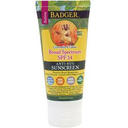 Badger Organic SPF 34 Anti-Bug Active Sunscreen