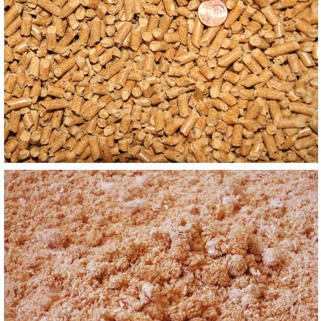 Taylor Select Pine Pellets Direct from bag and Expanded  image number null