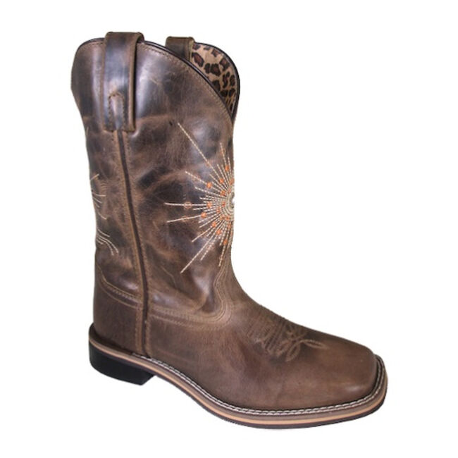 Smoky Mountain Sunburst Women's Western Leather Boot image number null