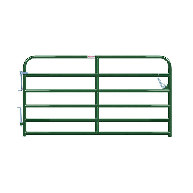 """Behlen Gate 2"""" 6 Rail Heavy Duty Gate-8'-50"""" image number null"""