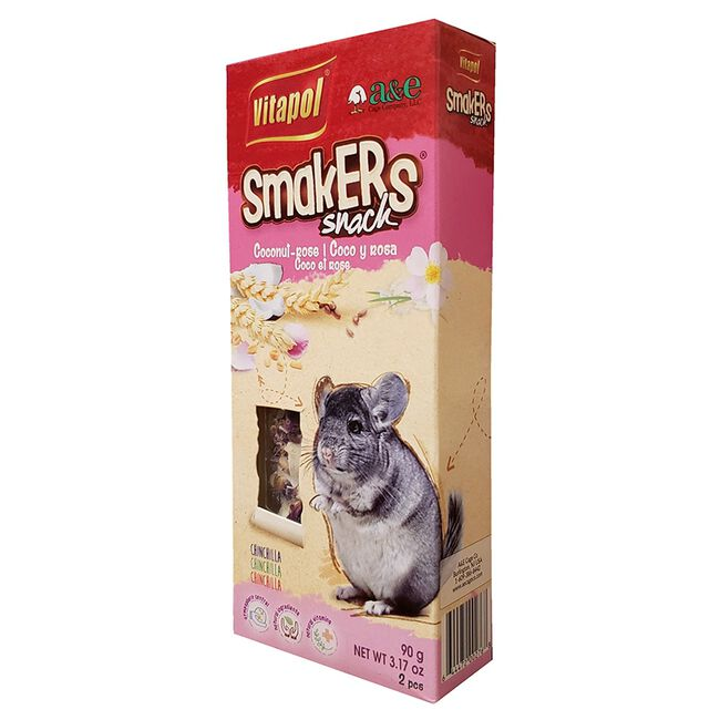 Vitapol Smakers Coconut-Rose Snack for Chinchillas image number null