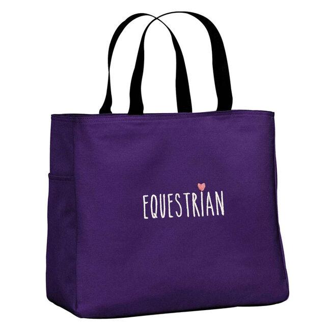 Stirrups Equestrian Tote Bag image number null