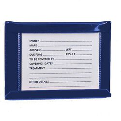 Stallmate Card Holder Small Blue