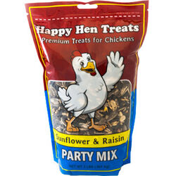 Happy Hen Party Mix Chicken Treat - Sunflower and Raisin