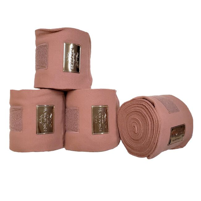 Eskadron Heritage Collection Fleece Polo Bandages - Rose image number null