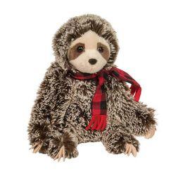 Douglas Bramley Sloth with Scarf Plush