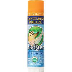 Badger Classic Organic Lip Balm, Tangerine Breeze
