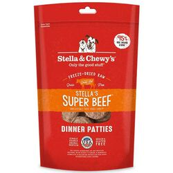 Stella & Chewy's Super Beef Freeze-Dried Dinner Patties