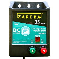 Zareba 25 Mile Battery Operated Low Impedance Charger