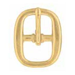 "Halter Buckle 1"" Brass"