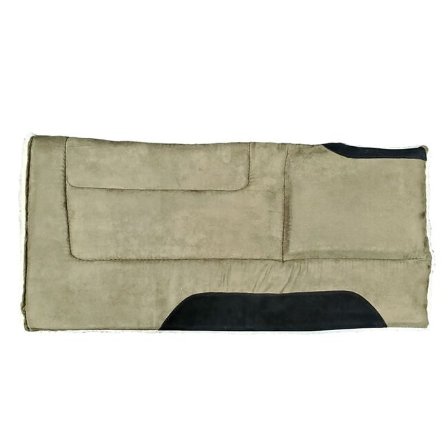 Toklat Microsuede Cut Back Square Pad - Olive image number null