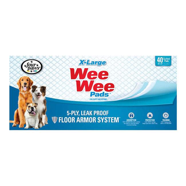 Four Paws Wee Wee Pads - X-Large image number null