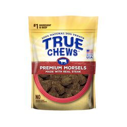 True Chews Premium Morsels Steak Bites 10oz