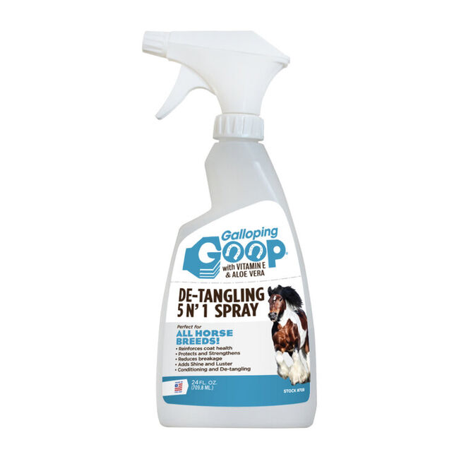 Galloping Goop De-Tangling 5 in 1 Spray - 24oz image number null