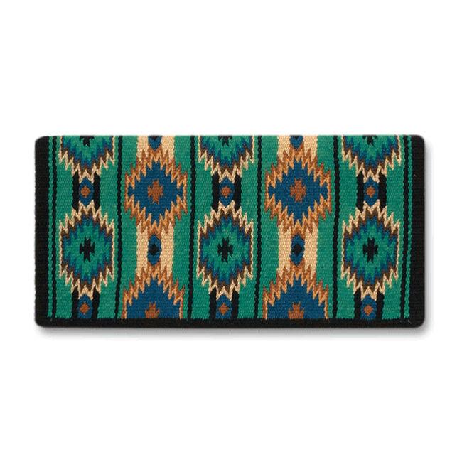 Mayatex 2x2 Saddle Blanket - Kelly Green image number null