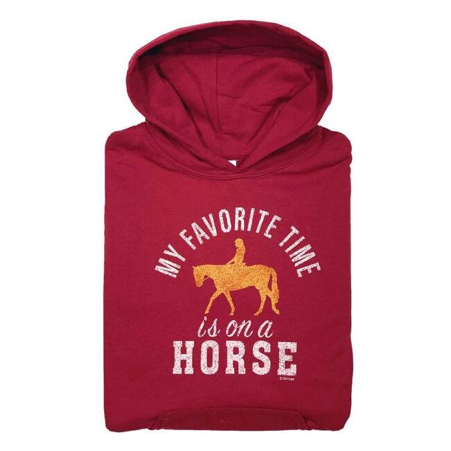 "Stirrups ""Favorite Time"" Youth Hoodie Sweatshirt image number null"